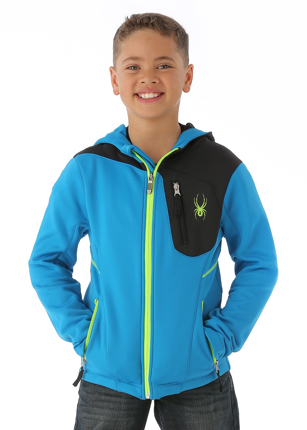 Kids Fleece Jackets (Ages 6-16) Spyder Brands