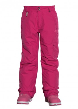 686 Girls Authentic Misty Pant (Raspberry)