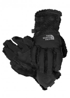 TNF Girls Denali Thermal Etip Glove (TNF Black)