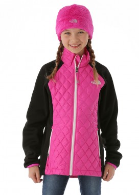 TNF Girls Thermoball Hybrid (Azalea Pink/TNF Black)