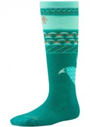 Smartwool Kids Wintersport Fox (Dark Spearmint)
