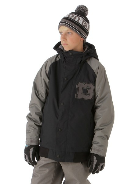 Boys Repel Jacket (True Black/Jet Pack)