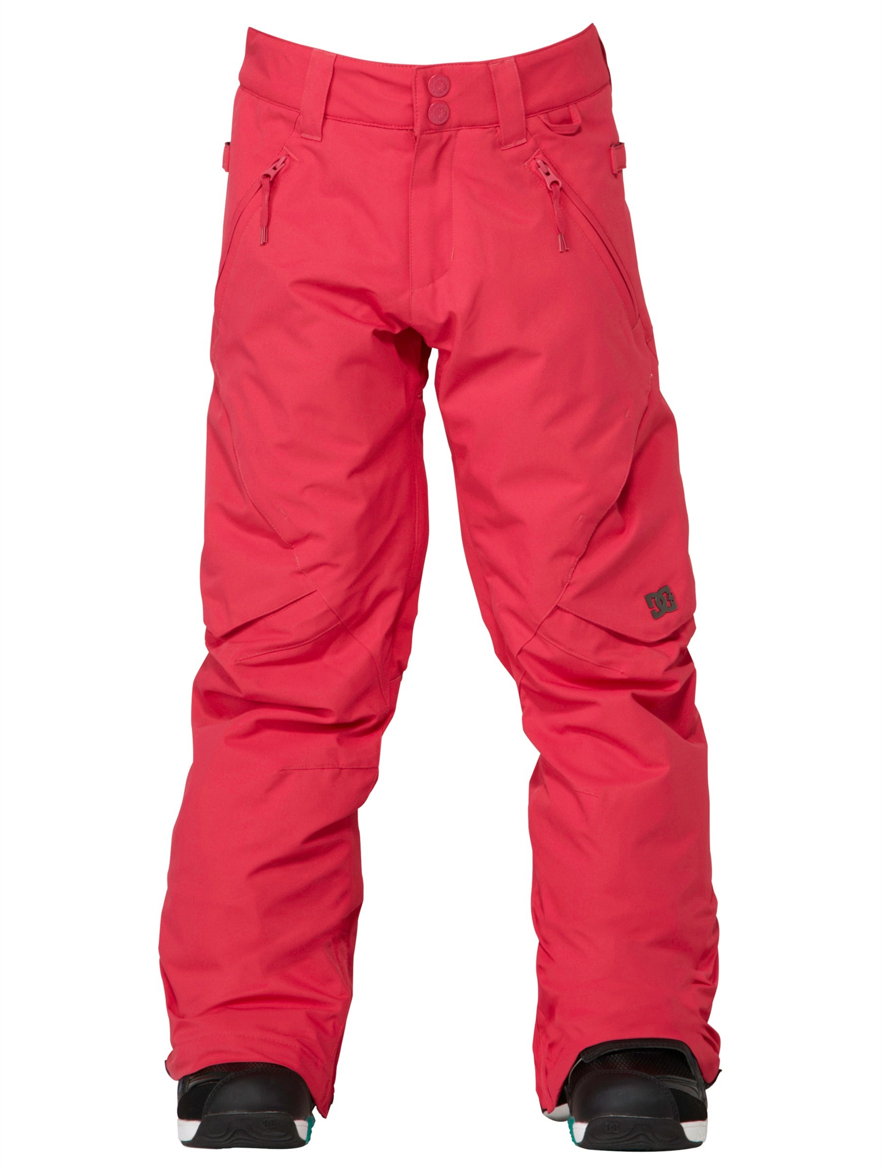 DC Girls Ace Pant (Bright Rose)