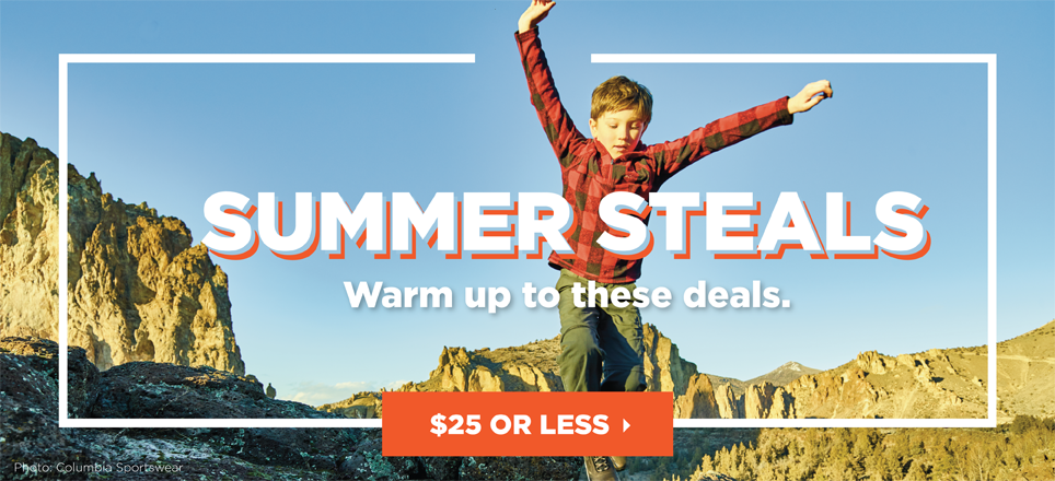 Summer Steals - $25 or Less