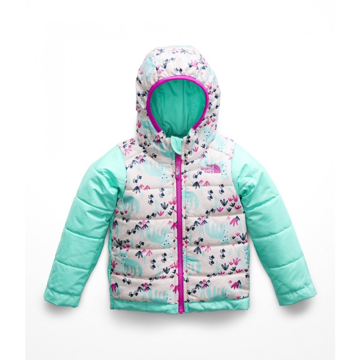 ccd00daa98 The North Face Toddler Girls Reversible Perrito Jacket - WinterKids.com