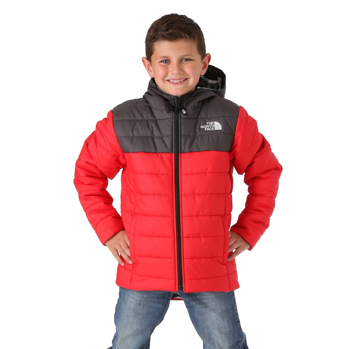dbcfabdb9 The North Face Boys Reversible Perrito Jacket