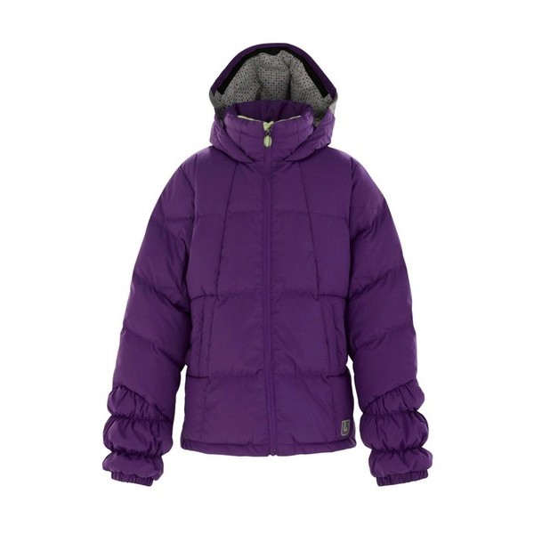 'Girls Allure Puffy Jacket (Plumberry)