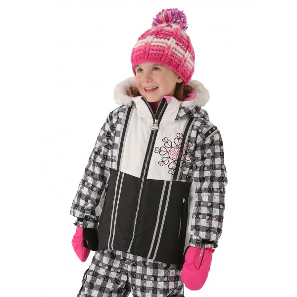 Obermeyer Girls Sunrise Jacket (Black)