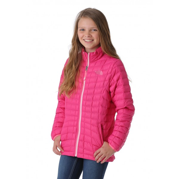 The North Face Girls Thermoball Full Zip Jacket - WinterKids.com