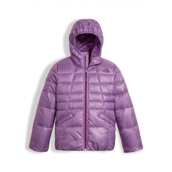 The North Face Girls Moondoggy 2.0 Down Hoodie - WinterKids.com