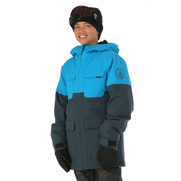 Volcom Boys Blocked Insulated Jacket - WinterKids.com