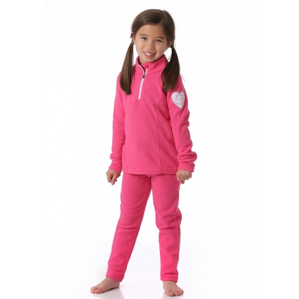 Zemu Little Girls Fleece Layer Set - WinterKids.com
