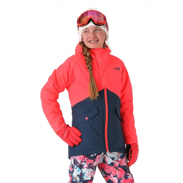 The North Face Girls Freedom Insulated Jacket - WinterKids.com