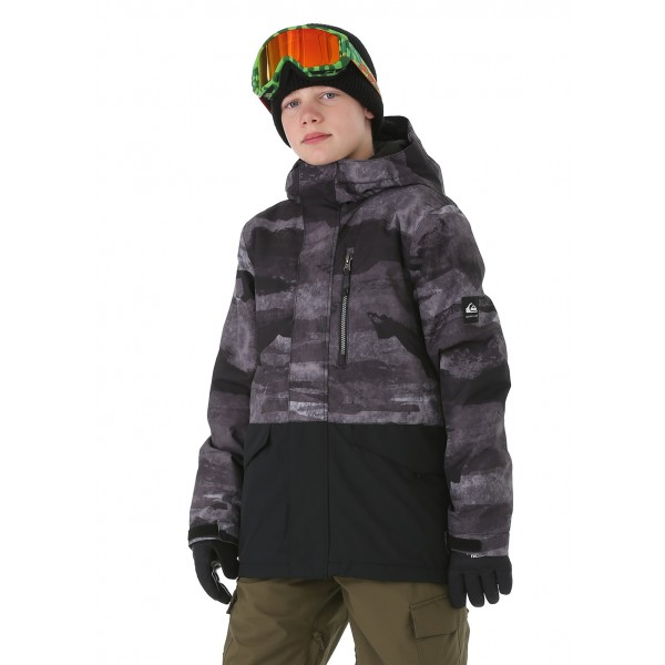 Quiksilver Mission Block Youth Jacket - WinterKids.com