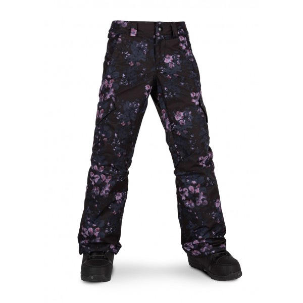 Volcom Girls Silver Pine Insulated Pant - WinterKids.com