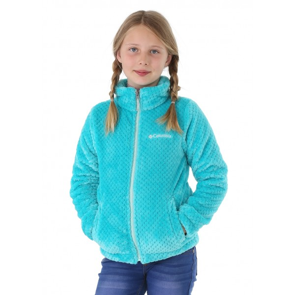 Columbia Girls Fluffy Fleece Full Zip - WinterKids.com