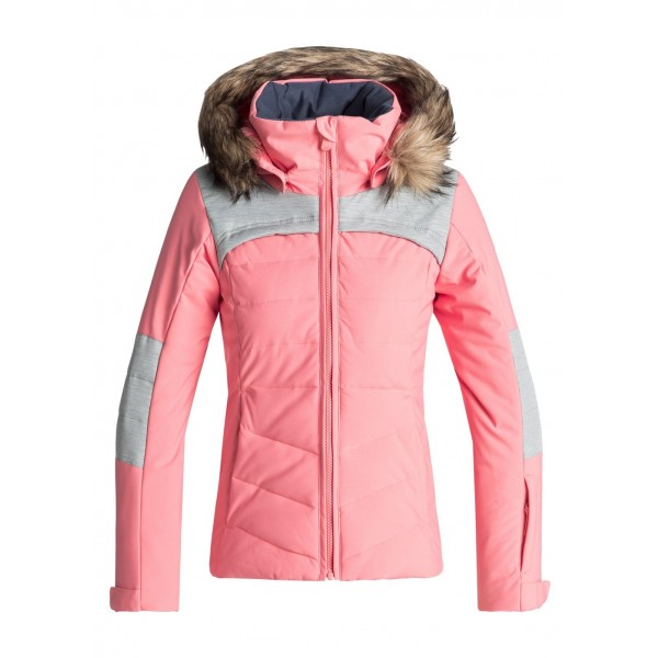 Roxy Girls Bamba Girl Jacket - WinterKids.com