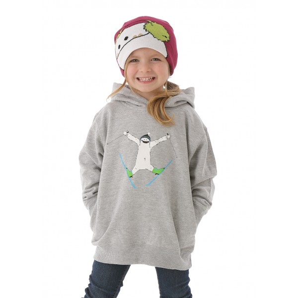WinterKids Children's Zemu Skier Hoodie Model