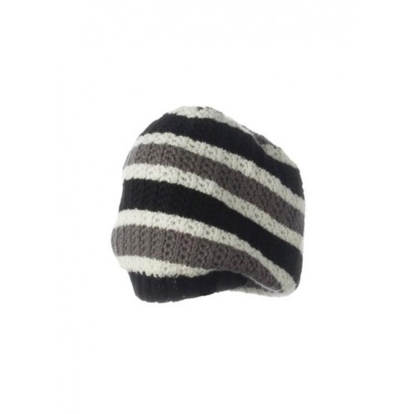 'Kira Knit Hat (White/Multi)