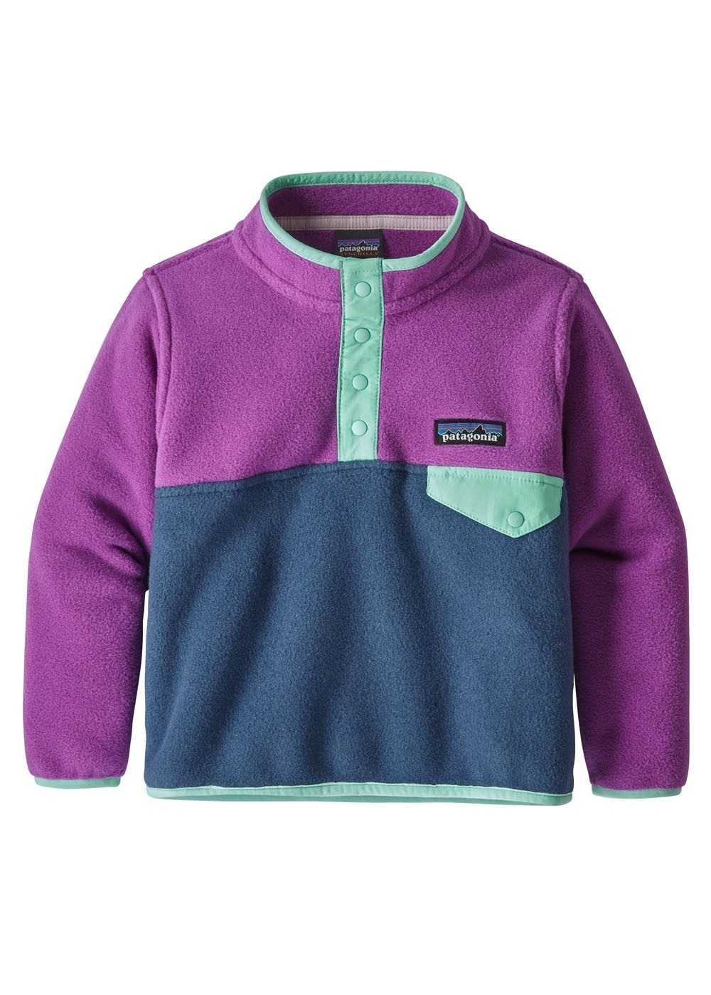 faf286fc Patagonia Baby Lightweight Synch Snap-T Pullover