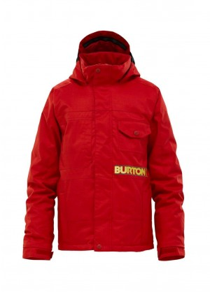 Burton Boys Distortion Jacket (Cardinal) Studio