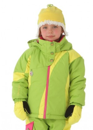 Girls Balance Jacket (Sour Apple)