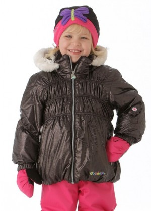 Girls Sheer Bliss Jacket (Slate)