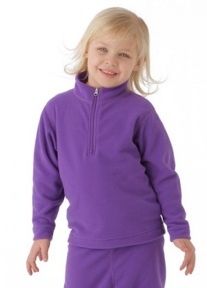 Preschool UG 100 Micro Zip-T (Grape)