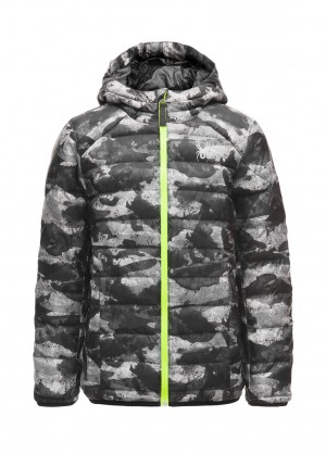 Spyder Boys Geared Synthetic Down Jacket - WinterKids.com