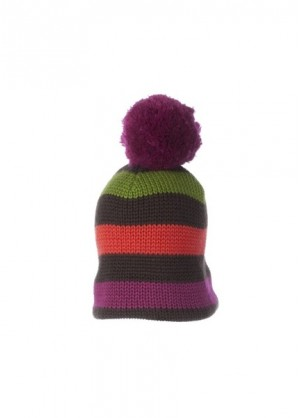 Dani Knit Hat (Peat Brown)
