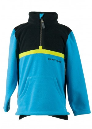 Obermeyer Boys Forge Fleece Top (Glacier Blue)