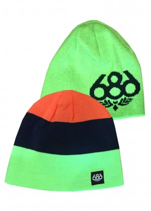 686 Boys Reversible Beanie - WinterKids.com