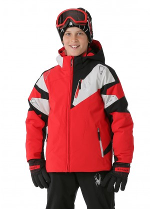 Spyder Boys Leader Jacket - WinterKids.com