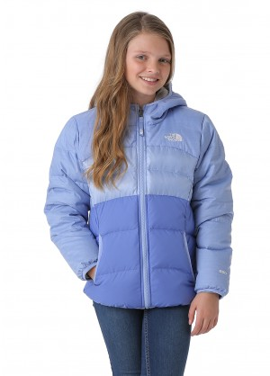 The North Face Girls Reversible Moondoggy Jacket - WinterKids.com