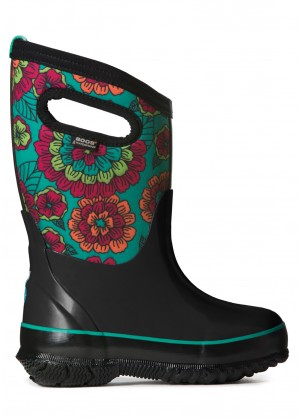 Bogs Classic Pansies Boots - WinterKids.com