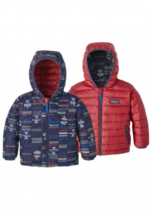 Patagonia Baby Reversible Down Sweater Hoody - WinterKids.com