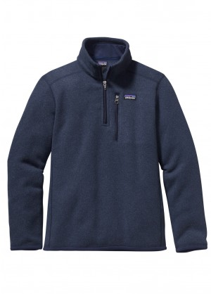 Patagonia Boys Better Sweater 1/4 Zip - WinterKids.com