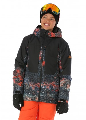 Quiksilver Boys Travis Rice Ambition Jacket - WinterKids.com