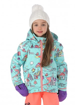 Roxy Girls Mini Jetty Little Miss Jacket - WinterKids.com