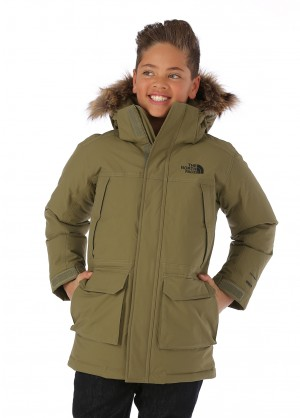 The North Face Boys Mcmurdo Down Parka - WinterKids.com