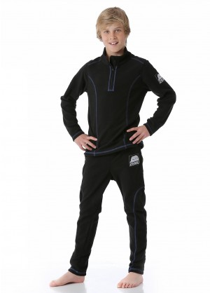 Zemu Junior Boys Fleece Layer Set - WinterKids.com