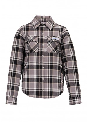 Obermeyer Boys Avery Flannel Jacket - WinterKids.com
