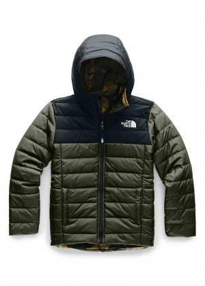 The North Face Boys Reversible Perrito Jacket - WinterKids.com