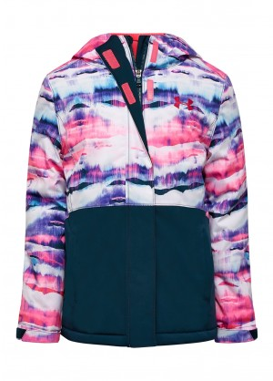 Under Armour Girls Treetop Jacket - WinterKids.com