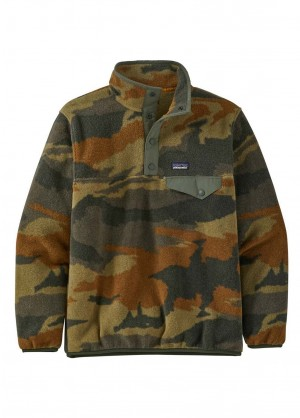 Patagonia Boys Lightweight Synch Snap-T Pullover - WinterKids.com