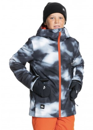 Quiksilver Mission Printed Youth Jacket - WinterKids.com