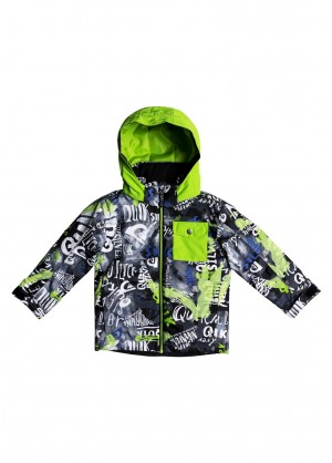 Quiksilver Toddler Boys Little Mission Jacket - WinterKids.com