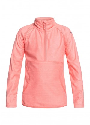 Roxy Girls Cascade Half Zip - WinterKids.com
