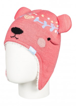 Roxy Toddler Girls Bear Teenie Beanie - WinterKids.com