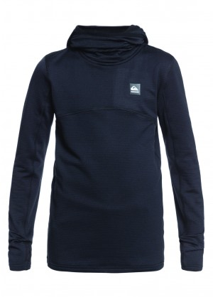 Quiksilver Steep Point Hood Youth Hoodie - WinterKids.com